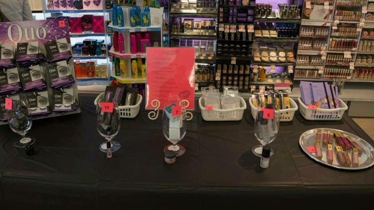 In store activities for the brides and their entourage!
