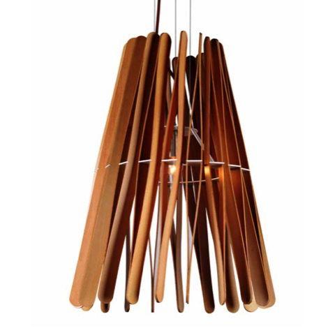 Piha Ash Wood Pendant Light