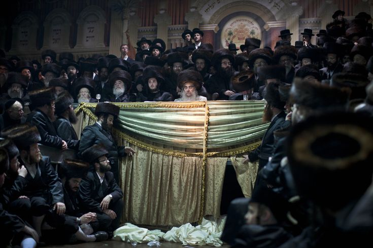 Ultra-orthodox Jew Marriage  Bnei Brak, Tel Aviv, Israele (AP Photo/Oded Balilty)