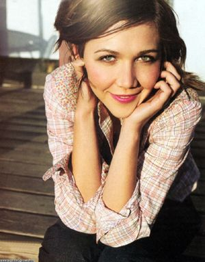You're not going to do good work if you're not choosing something because it inspires you. Maggie Gyllenhaal