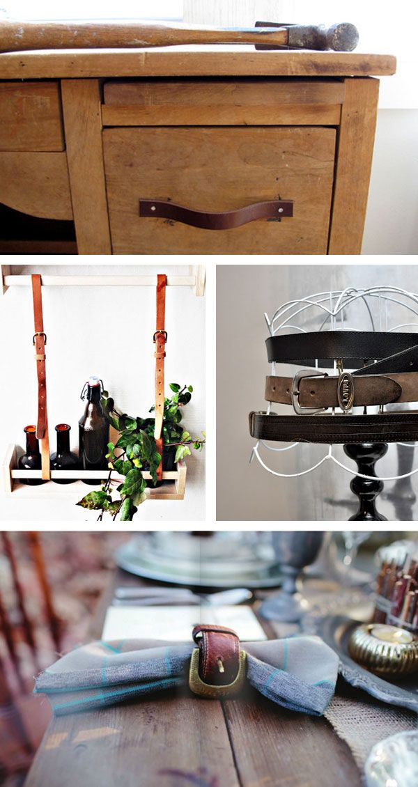 17 Best Images About My Creations Ideas On Pinterest: repurposed leather belts