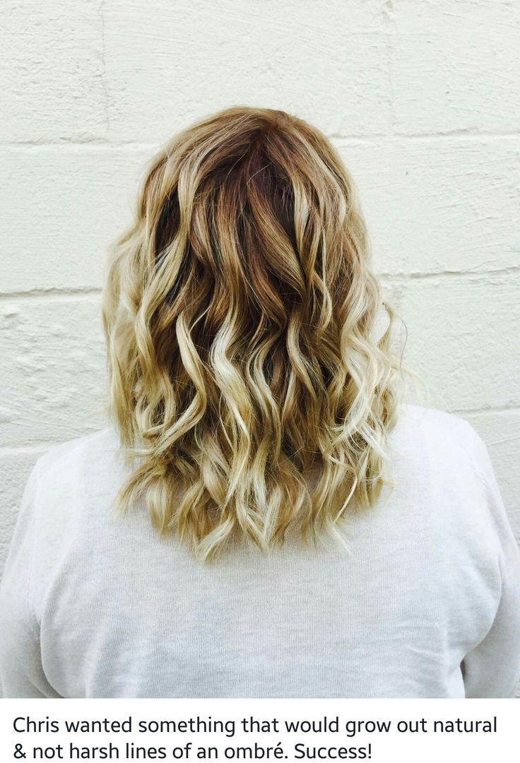My first time with Bayalage on my hair and painted highlights