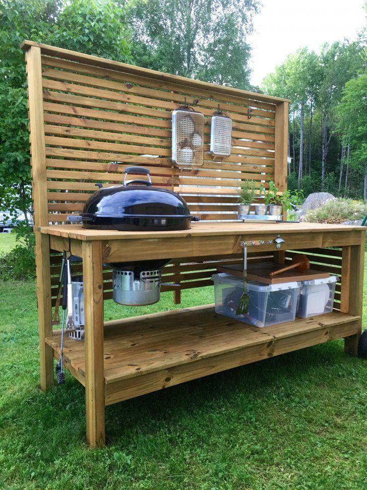Inspiration Outdoor Küche Weber Und Schöne Grill Table ...