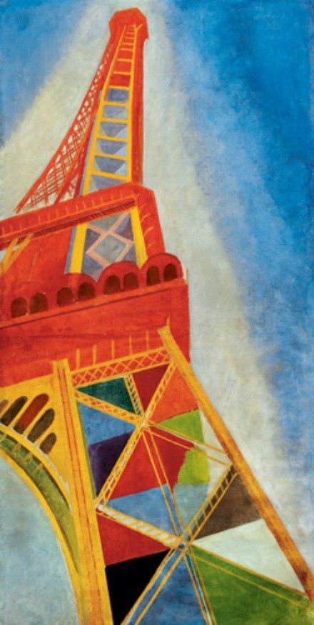Robert Delaunay - (shape example)