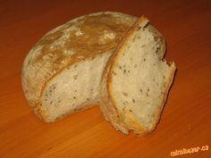 Chleba ala KVASKOVY ve trech jednoduchych krocich - naprosto LUXUSNI...!!!:) - jiny uz nedelam