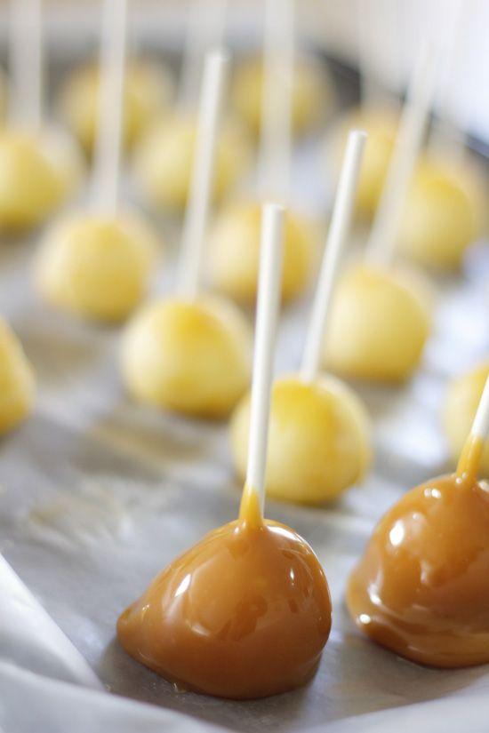 receta manzanas caramelizadas