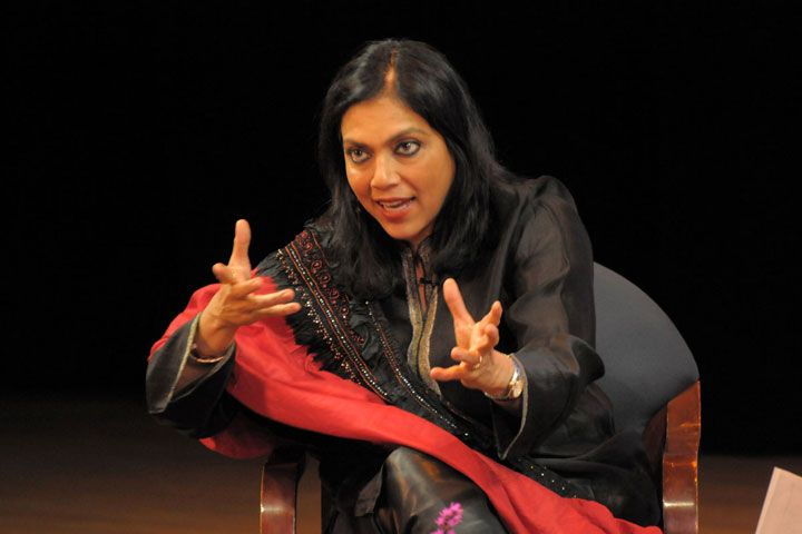 Indian director Mira Nair of Monsoon Wedding, Salaam Bombay