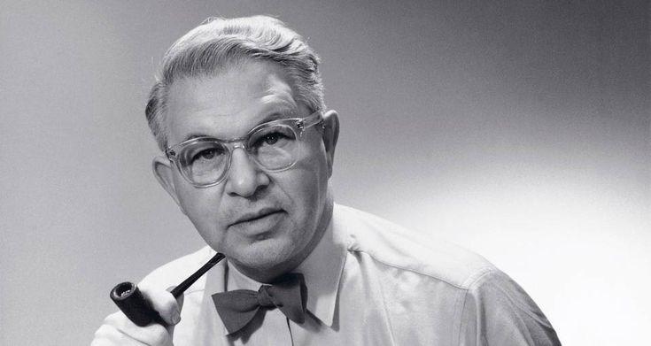 Arne Jacobsen im Porträt.
