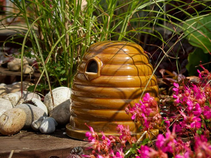 Bumble Bee Nest Ceramic Bumblebee House Bumble bee nest