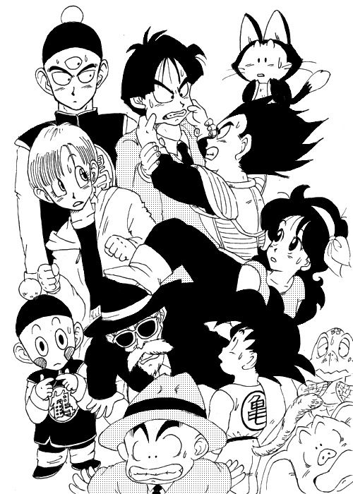 1101 best dragonball couples images on pinterest dragon - Goku e bulma a letto ...
