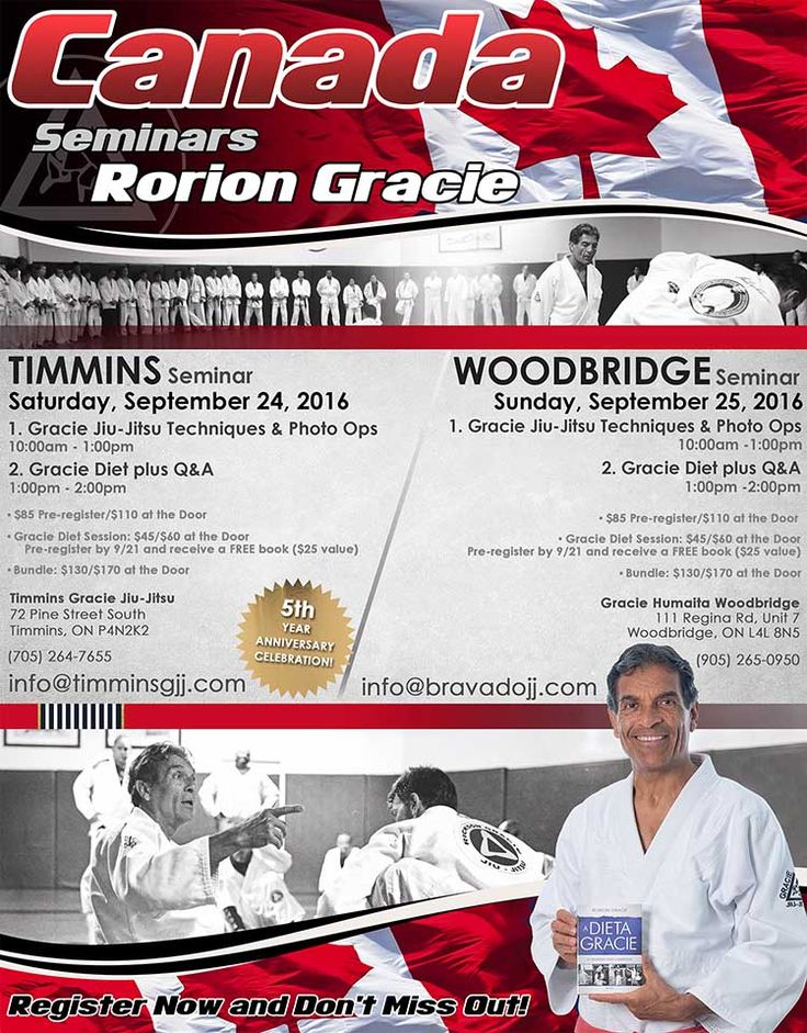 Gracie Woodbridge is please to be hosting a seminar with Master Rorion Gracie! more info at GracieWoodbridge.com
