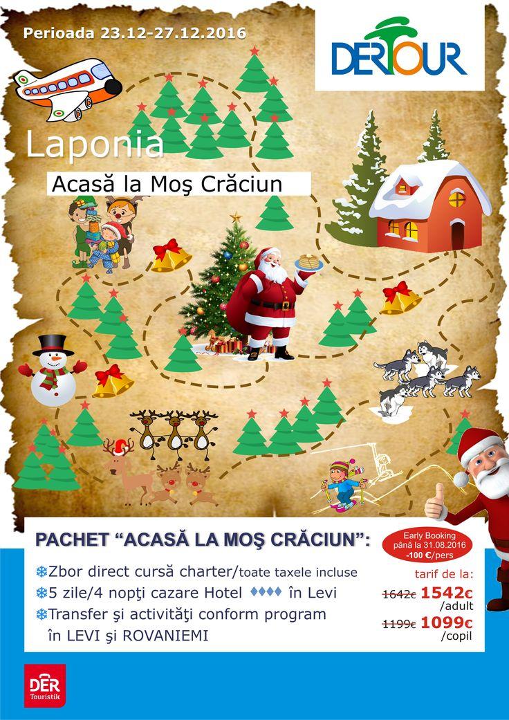 Craciun in Laponia - Finland , Levi #Craciun #vacanta http://bit.ly/2bygVc4