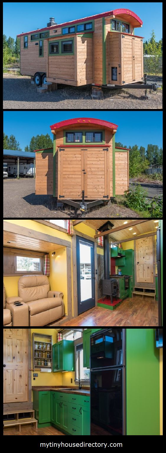 379 best Tiny Houses images on Pinterest | Tiny house cabin, House ...