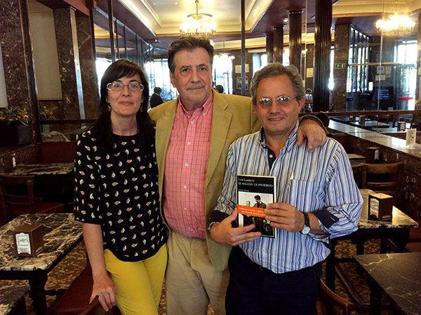 Luis Landero participa en los Clubes de lectura de la Nubeteca.