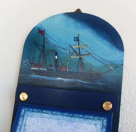 """Aτμόπλοιο"" από πίνακα του Μποστ..."