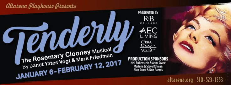 Tenderly, The Rosemary Clooney Musical