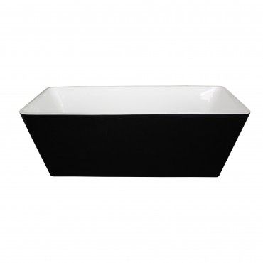 Ottimo Nero Freestanding Bath 1700mm