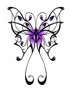 over the shoulder tatttoo | Butterfly symbolizes femininity, frailty and meekness