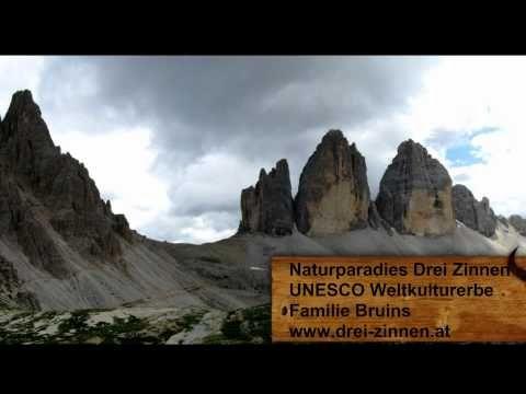 Naturparadies Drei Zinnen - Tre Cime - Familie Bruins - YouTube