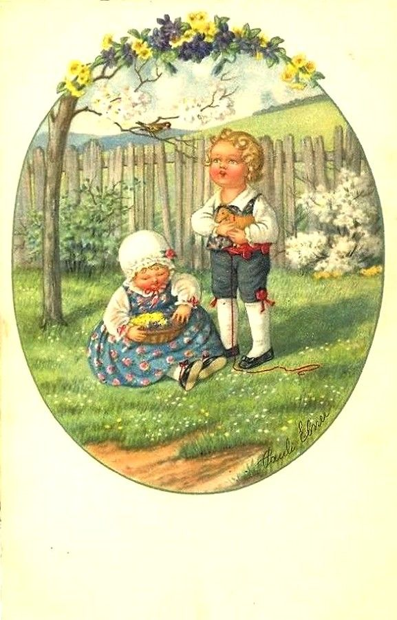 Pauli Ebner (1873-1949) — Old Post Cards (577x900)