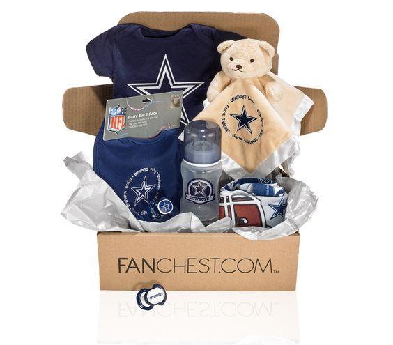 Dallas Cowboys Baby Box | Cowboys Gear For Baby Cowboy Fans • FANCHEST