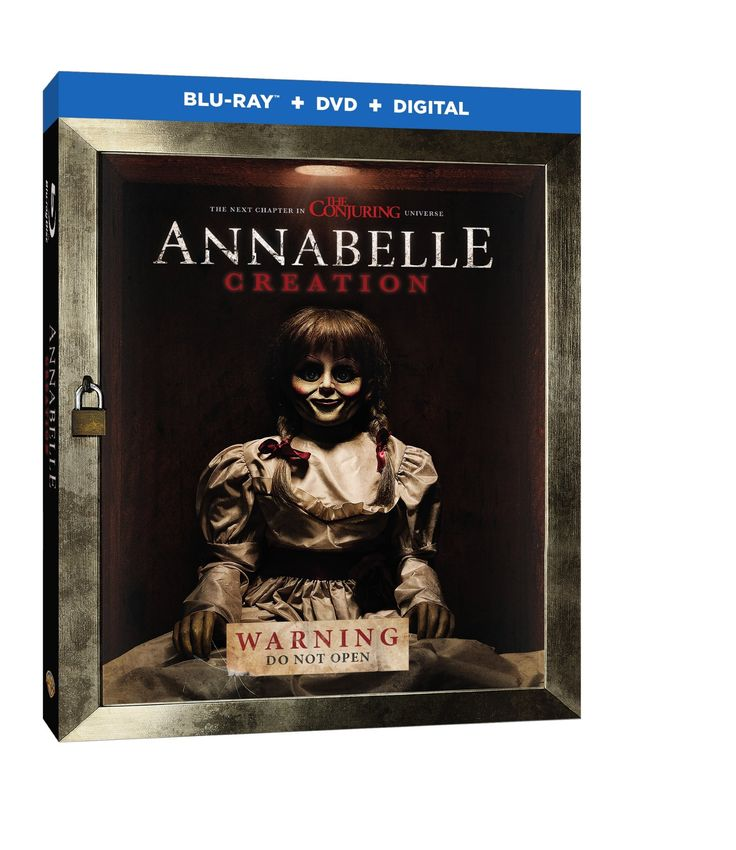 Warner Bros. Home Entertainment has announced the home release info (Blu-Ray/DVD/Digital HD) for Annabelle: Creation!  Cast:  Miranda Otto Javer Botet Stephanie Sigman Alicia Vela-Bailey Talitha Bateman Anthony LaPaglia Adam Bartley Lulu Wilson  Synopsis:  Former toy maker Sam Mullins and his wife Esther are happy to welcome a nun and six orphaned girls into their California farmhouse.  #AnnabelleCreation #Annabelle #Creation #WarnerBrosHomeEntertainment @WarnerBros #NothingButGeek #NBGeek…