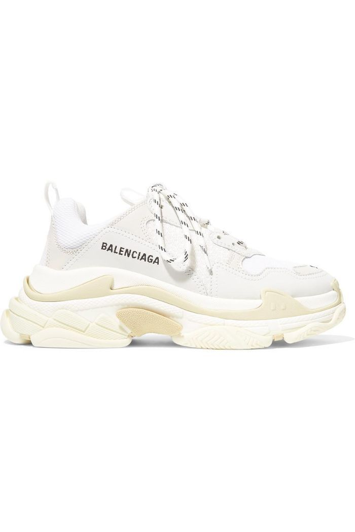 on sale 3fc93 a961c The Trendy Sneakers Our Editors Can t Stop Thinking About in 2019   I LOVE  SHOES   White balenciaga sneakers, Sneakers, Popular shoes