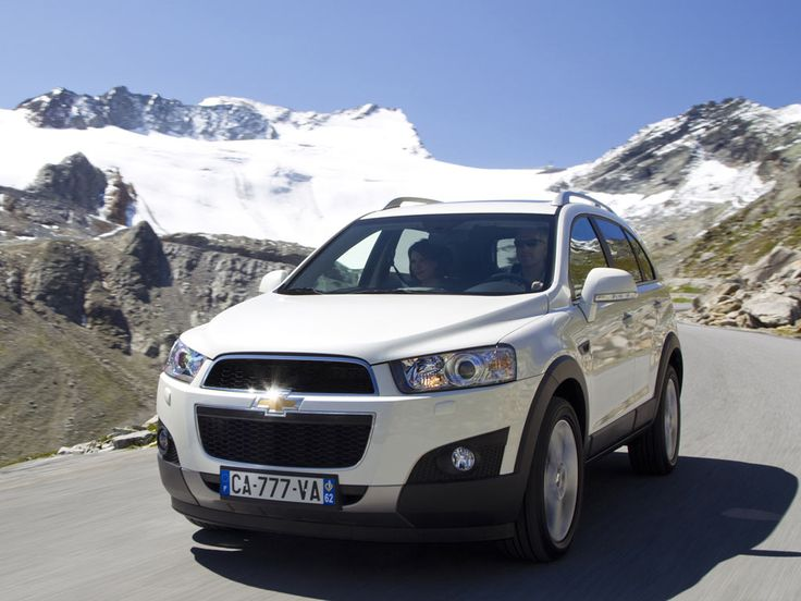 White Car Picture Chevrolet Captiva 2013 - Car HD Wallpaper