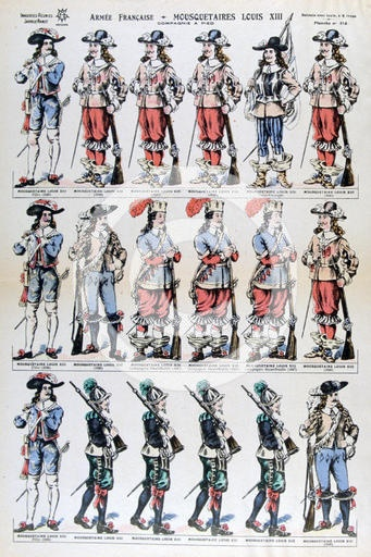 French Infantry of Louis XIII.