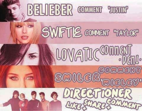 "#contestoftheday #concert  #tickets  '-Belieber - COMMENT ""Justin""  '-Swiftie - COMMENT ""Taylor""  '-Lovatic - COMMENT ""Demi""  '-Smiler - COMMENT ""Mieley""   '-Directioner - COMMENT & SHARE & LIKE.  Find Local Concerts : http://www.waytotickets.com"