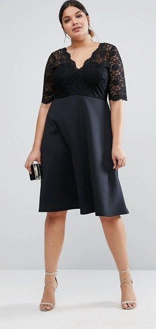 17 best ideas about big girl fashion on pinterest plus for Fat girl wedding guest dress