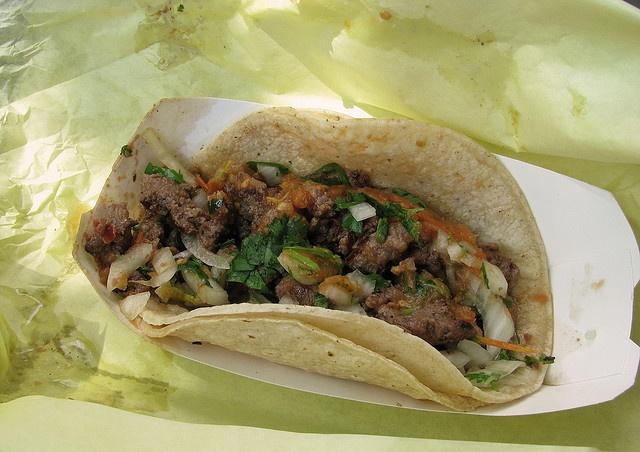 Carne asada taco | for the palate | Pinterest