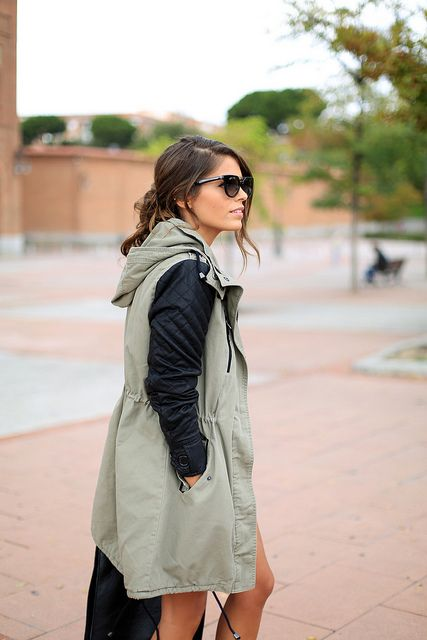 Lovely parka by seamsforadesire, via Flickr