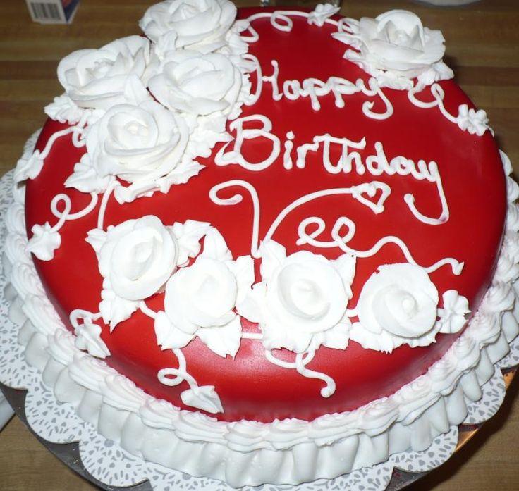 12 Best Birthday Cake Images On Pinterest Food Cakes Anniversary
