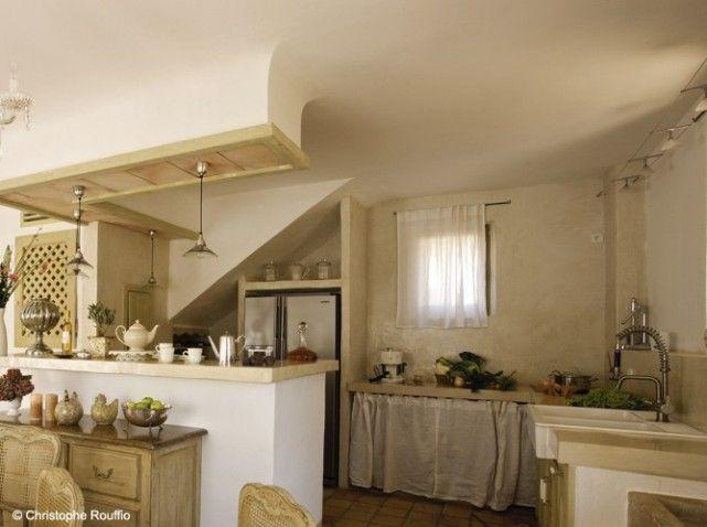 дизайн кухни в деревенском стиле (25)
