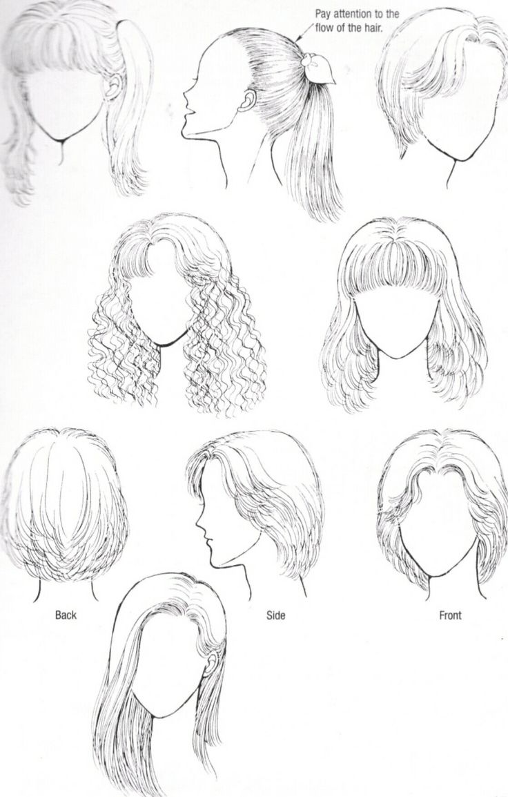 Hairstyles That Are Simple Yet Easy To Draw