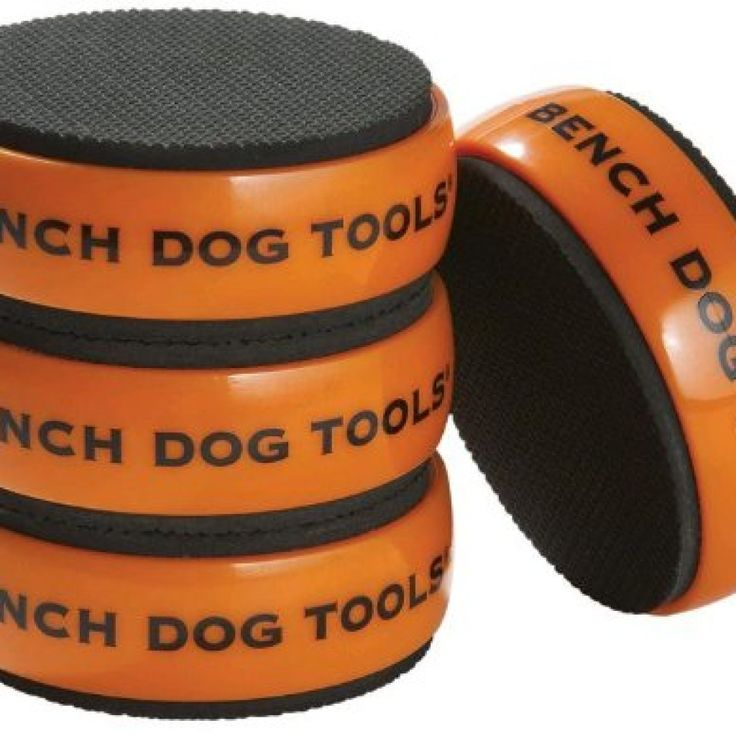 Bench Dog Bench Cookie work grippers are versatile, non-slip bench pads that lift, grip, and