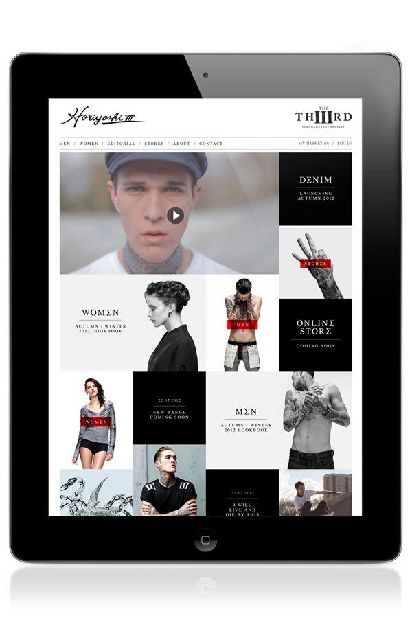 APP design. UI Mobile. Fashion.