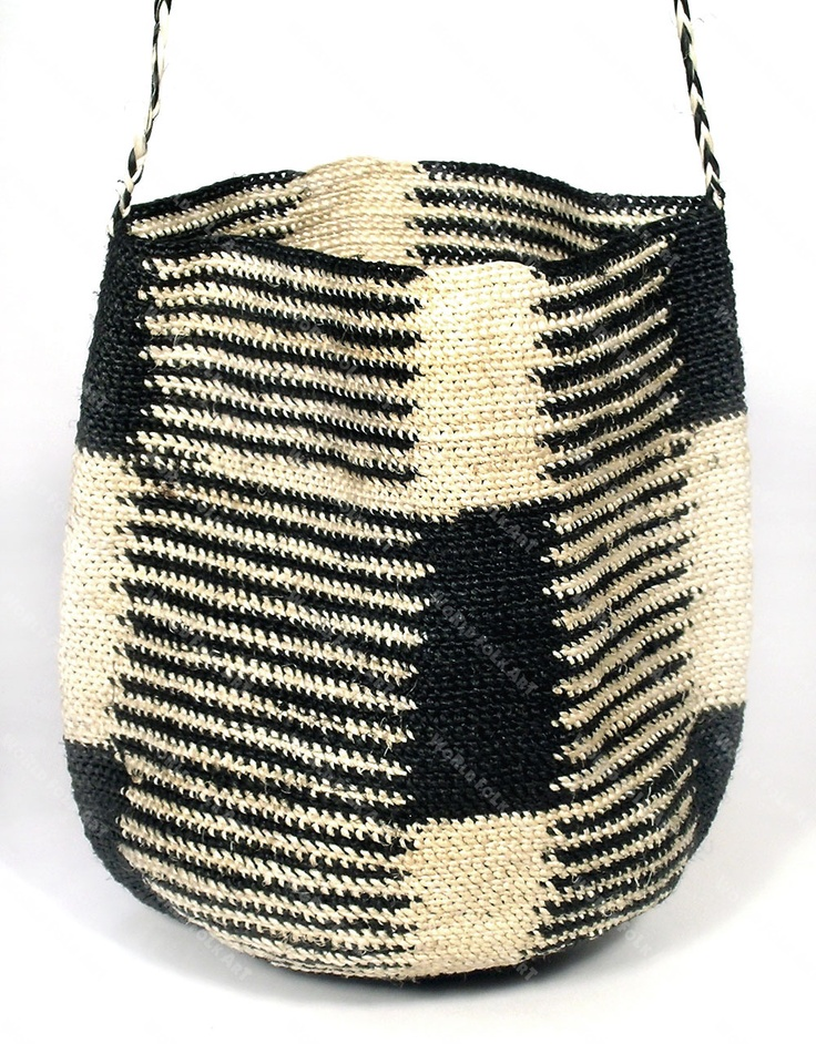 Shigra, the Quechua word for bag, is made from hemp fibers of the chambira palm tree which grows in the drier, more westerly area of the Peruvian Amazon Rainforest.