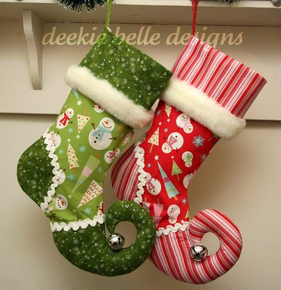 395 Best Christmas Stockings Images On Pinterest