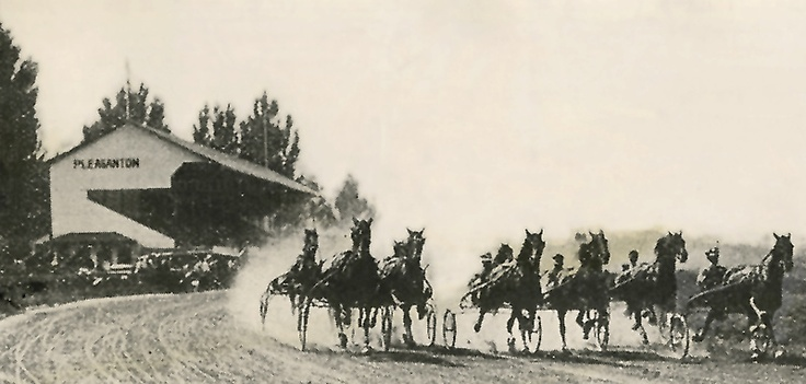 "Alameda County Fair celebrates centennial: ""And they're off!"" at the first Alameda County Fair in 1912. #Fremont #UnionCity #Newark #EastBay #BayArea"