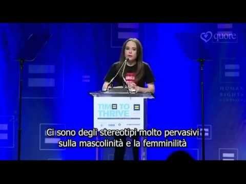 [video] Ellen Page e il suo coming out (sub ita) –