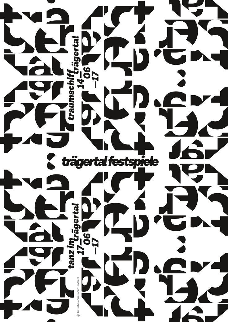 passau poster kw_22 #tanz #tragertal #rave #traumschiff #techno # house# electro #passau #music #poster #plakat #typography #graphic_design #black_and_white #pure_typography #design #prints #passau #inspiration