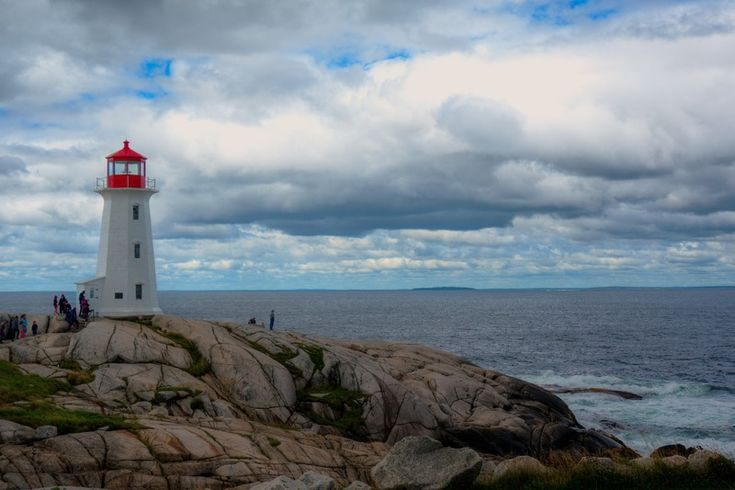 Another Peggy'S Cove shot, this one with a great view of the ocean.