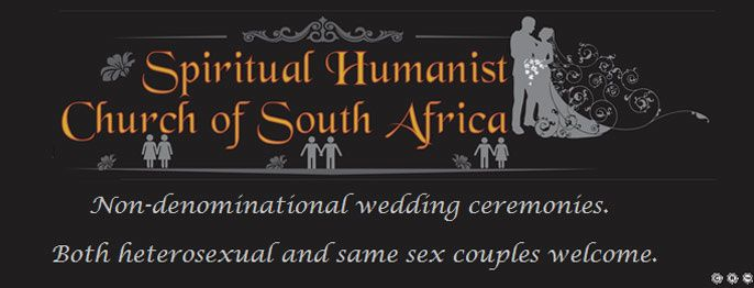 Spiritual Humanist Church of South Africa - Johannesburg Marriage Officers | Wedding Ceremony