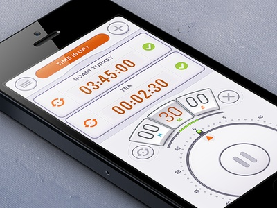 Multiple Alarm List    #apps #iphone #ios #ui #gui