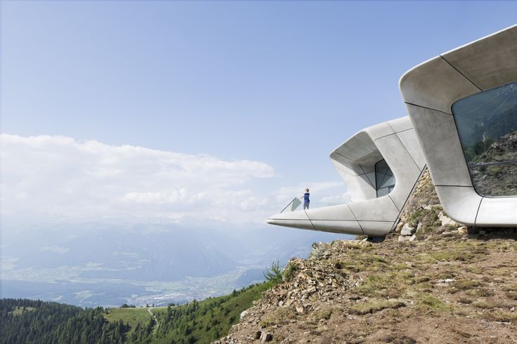"the 6th & final Messner Mountain Museum, brainchild of famous mountaineer, Reinhold Messner ... the  MMM Corones (Latin for ""crown"") 