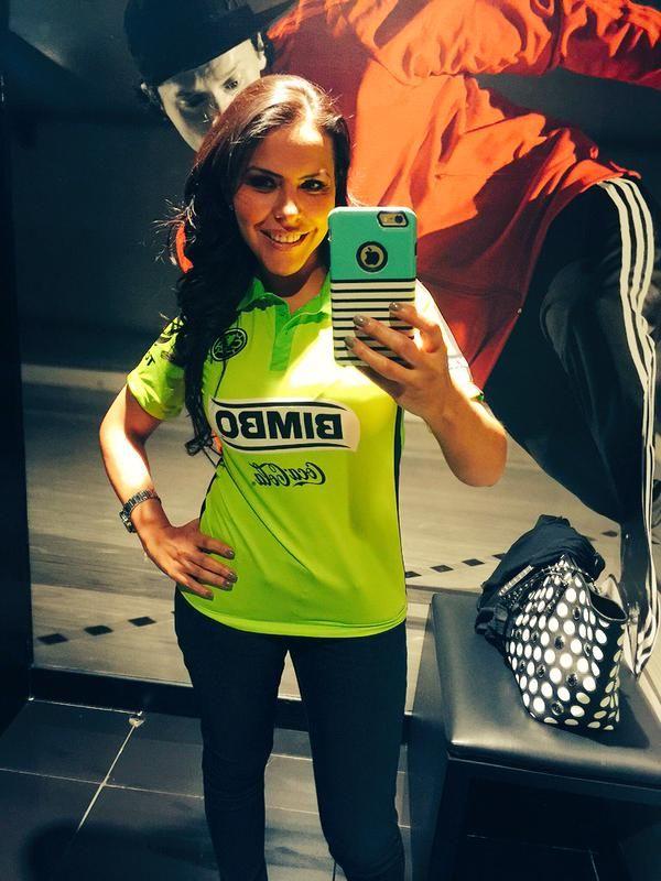 """""""Por fin encontré mi playera de #América   #SomosÁguilas. En @innovasport quiero toda la tienda!"""".- @GabyElizalde en Twitter"""