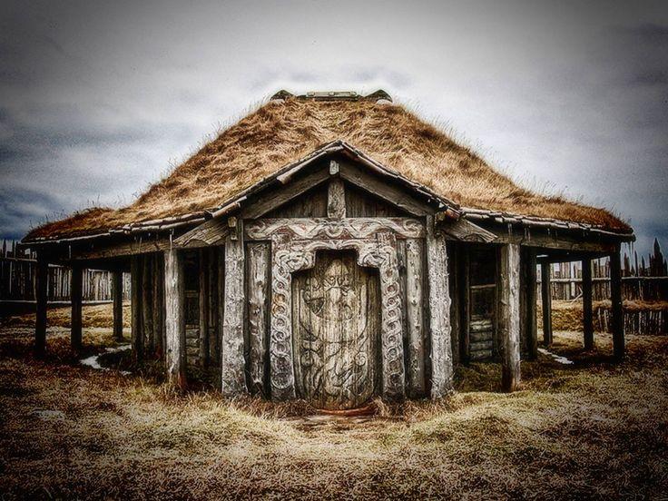 Mejores 156 im genes de arquitectura vikinga en pinterest - Casas de madera nordicas ...