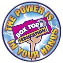 The power is in your hands Box Tops for education. Rewards ideas.